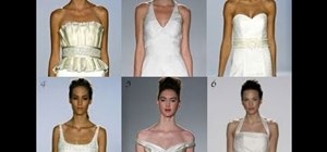 Choose a wedding dress neckline for your body type