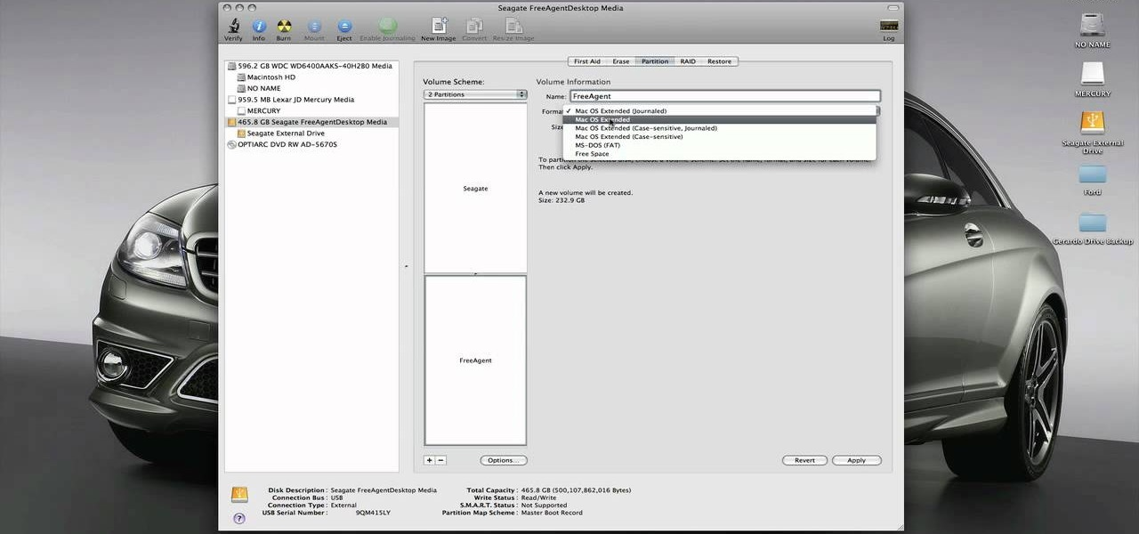 How to Format your PC external hard drive to work with a ...