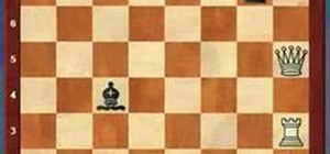 Check, checkmate, and stalemate in a chess game