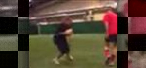 Sidestep your opponent in rugby