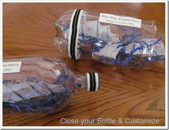 plastic bottle boat instructions