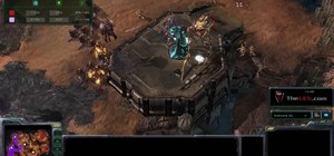 Use the Protoss Colossus unit effectively against Zerg in StarCraft 2