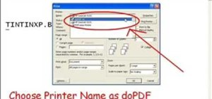 Convert between DOC and PDF file formats with doPDF