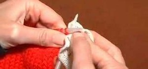 Knit with ruffles yarn