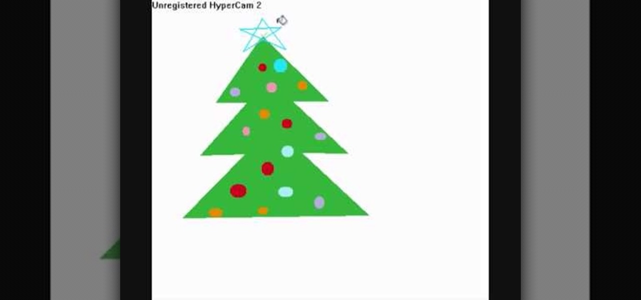 How To Draw A Christmas Tree On Ms Paint Christmas Ideas