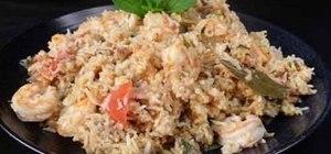 a Goan rice dish
