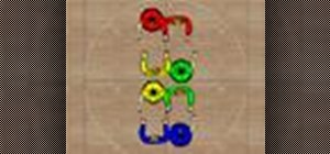 Do a Cross Trail Thru (8 Chain Thru) square dance step