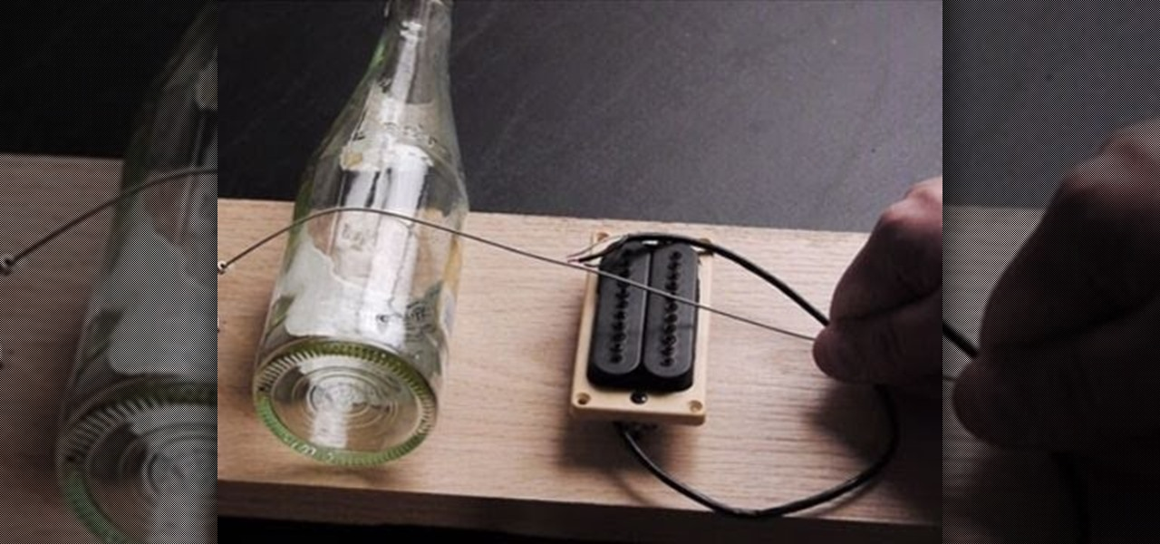 How to Build a simple one-string electric guitar called a Diddley Bow u00ab Hacks, Mods u0026 Circuitry