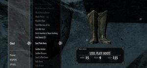 Find an Invisible Chest in The Elder Scrolls V: Skyrim