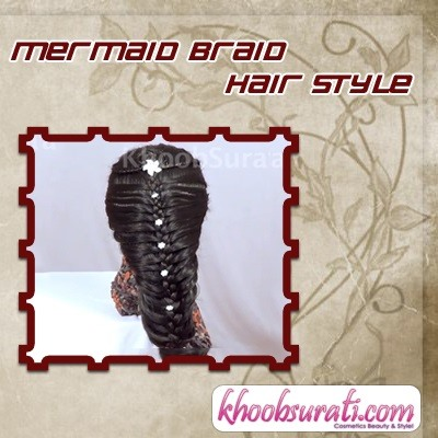 How to Mermaid Braid Hair Style