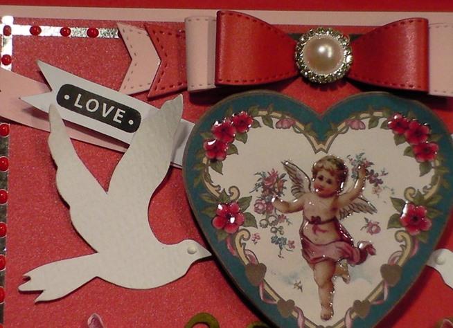 How to Make a Victorian Vintage Cherub Valentine Card ...