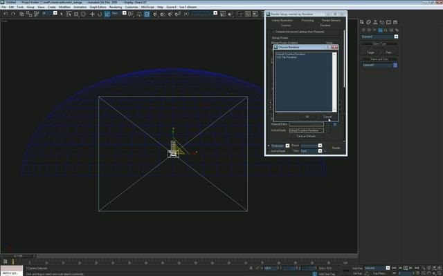 Create a procedural night sky with stars in Autodesk 3ds Max
