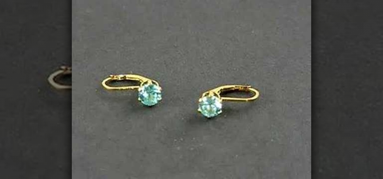with earring back filled yellow round mounting snap earrings lever gold setting set product