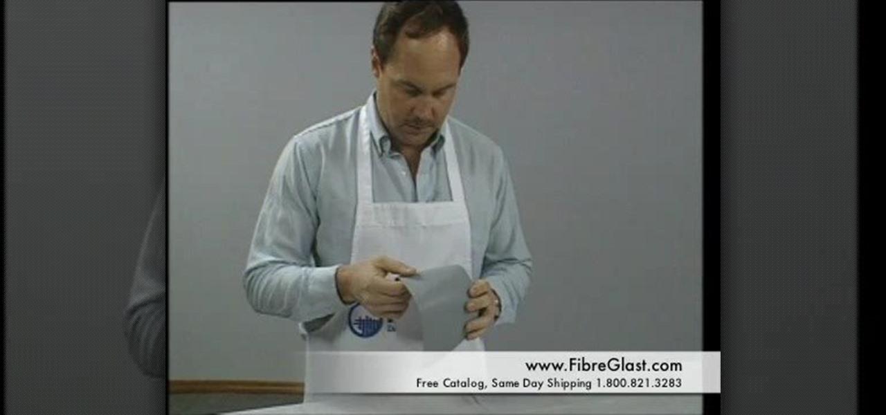 How to make a fiberglass mold sculpture wonderhowto for How is fiberglass made