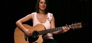 "Play ""Rude Boy"" by Rihanna on acoustic guitar"