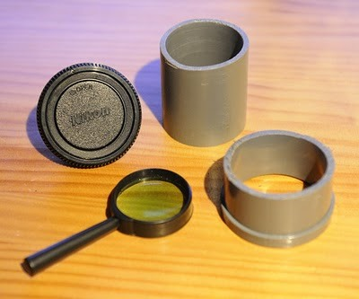 How to Create a Manual Camera Lens with PVC Pipe