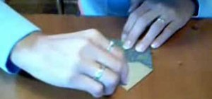 Origami a paper envelope