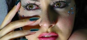 Create a Carnival makeup look like Avatar's Neytiri