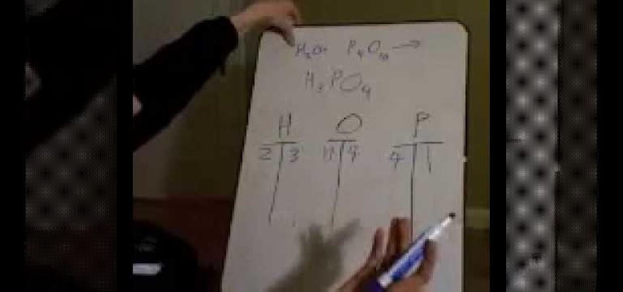 teach me how to balance chemical equations