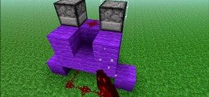 Build a rapid fire egg dispenser in Minecraft