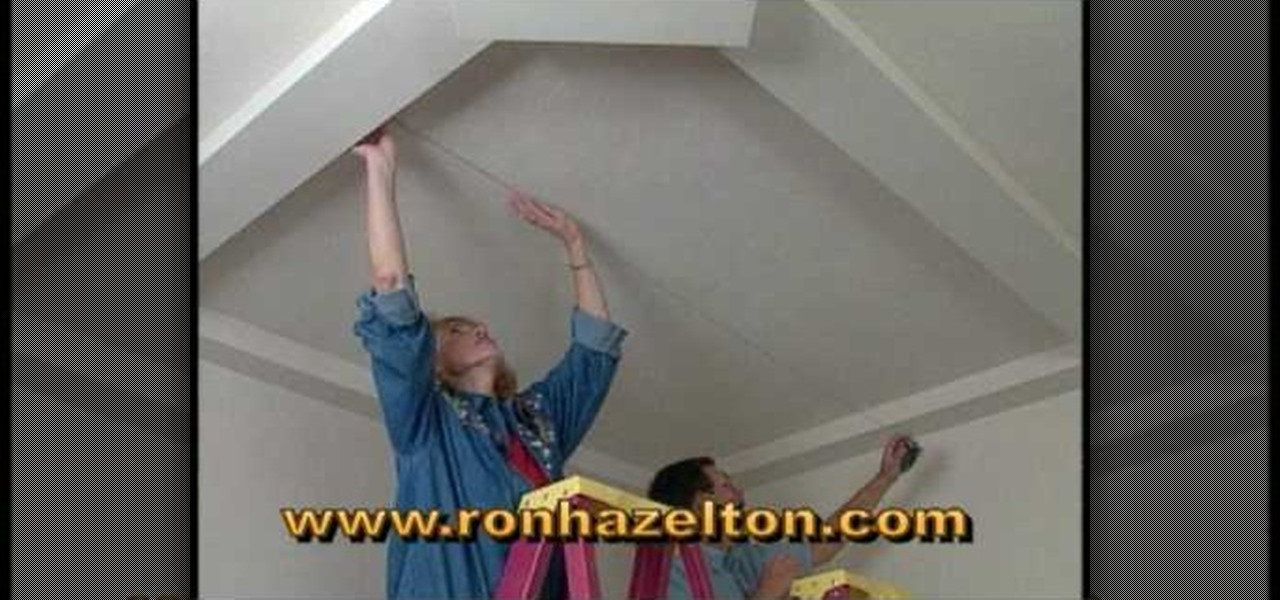 How To Create Sunken Or Recessed Ceiling Panels Interior Design