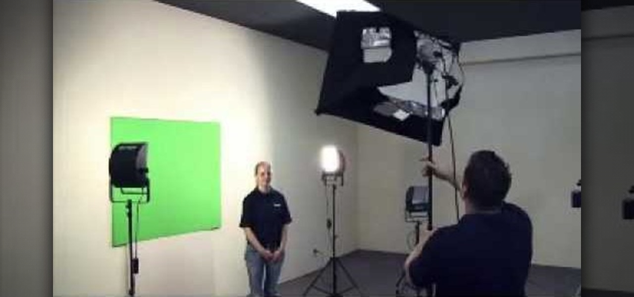 how to properly light a green screen and create the illusion film