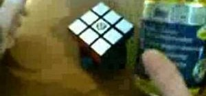 Easily lubricate a Rubik's Cube with silicone spray