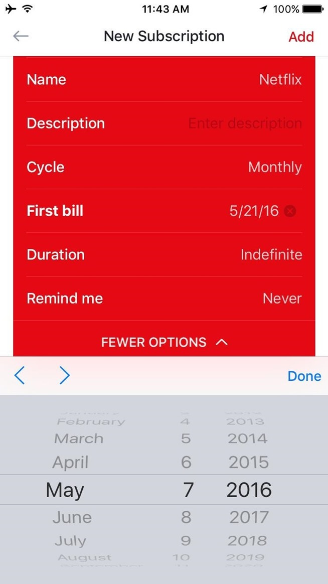 Get Control of All Your Paid Subscriptions with This Simple iPhone App