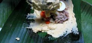 Make Colombian tamales