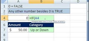 Use numerical truth values in Microsoft Excel