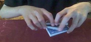 Perform an easy false cut perfect for most card tricks