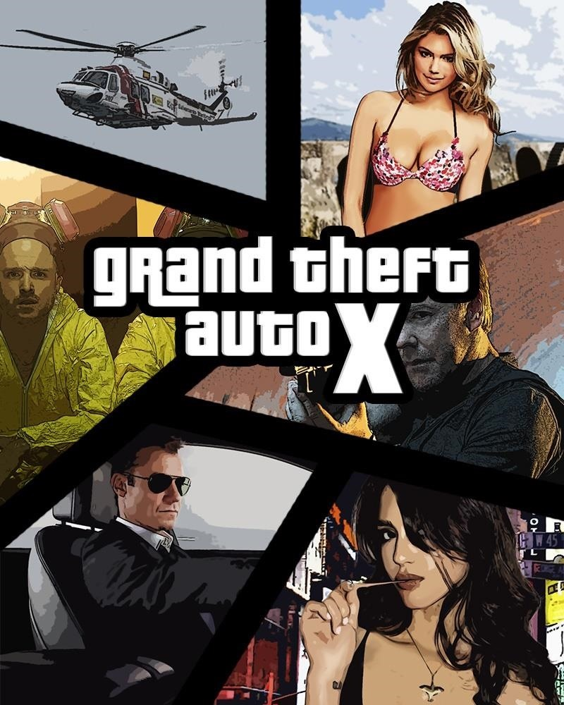 How to Make a Grand Theft Auto (GTA) Cover Style.