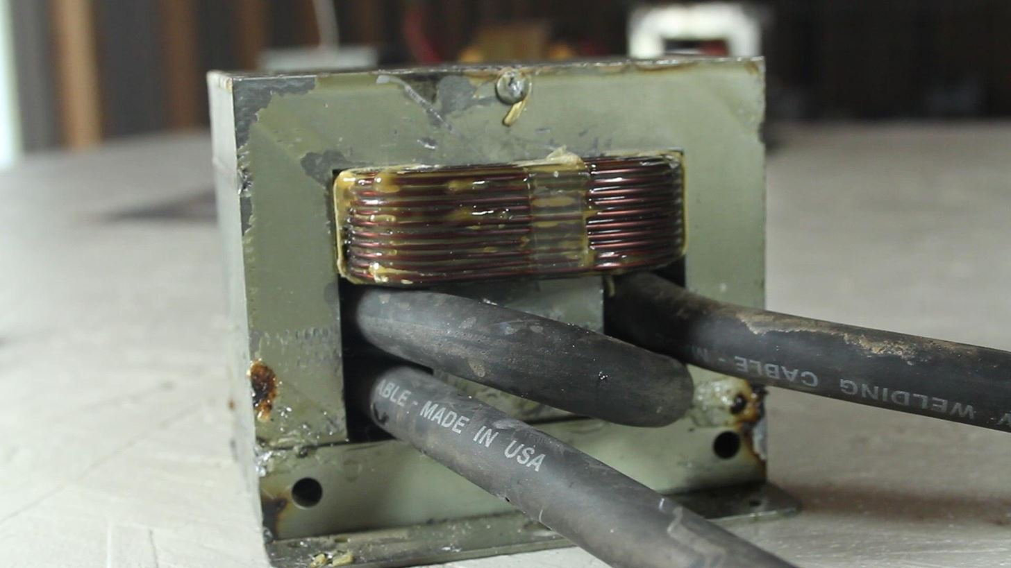 How to Turn a Microwave Oven Transformer into a High Amperage Metal Melter!