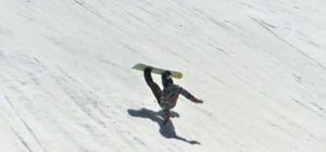 Fall safely on a snowboard