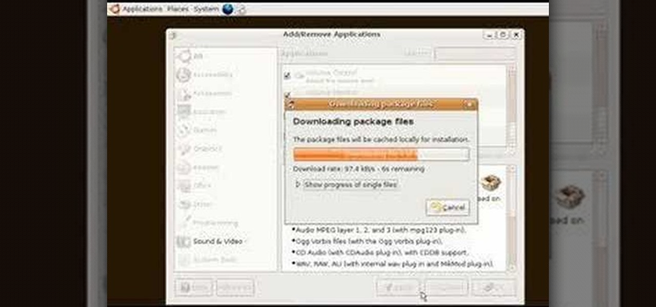 How to Install an MP3 player in Ubuntu Linux « Operating