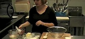 Make cranberry orange scones
