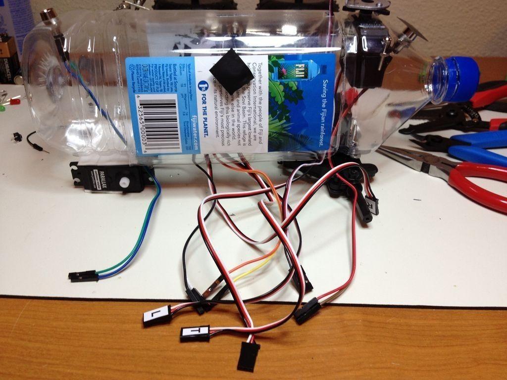 Autonomous, Solar-Powered Fijibot Only Lives to Survive