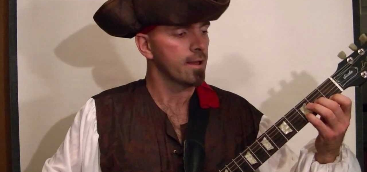 pirates of the caribbean theme song guitar how to play