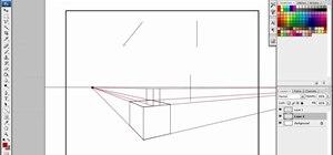 Draw in 2 point perspective, the easiest way