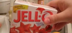 Make Jell-O shots in orange skins