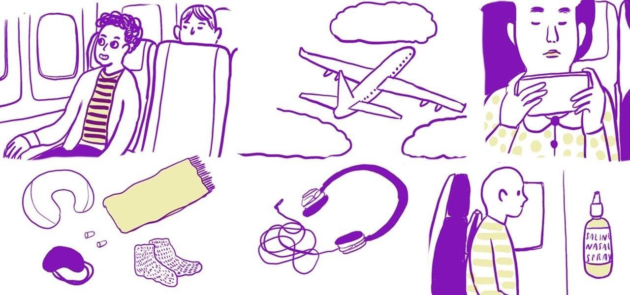 Make Long Holiday Flights More Comfortable