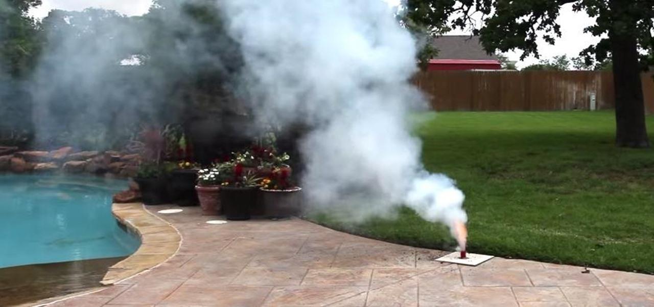 Make Homemade Smoke Bombs