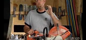 Use cut-off concrete saws & saw blades