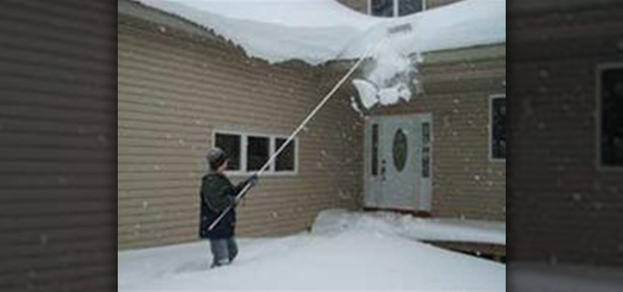 How To Use A Roof Rake Removing Snow Amp Ice From Your Home