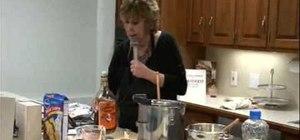 Make butterscotch brickle Bourbon bon bons