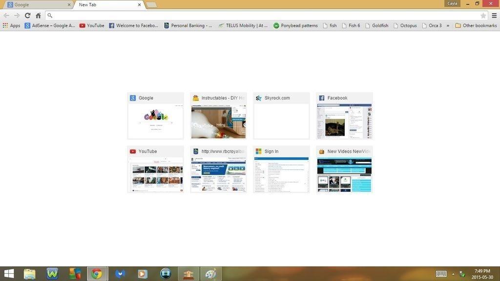 Keyboard Shortcuts for Google Chrome!!