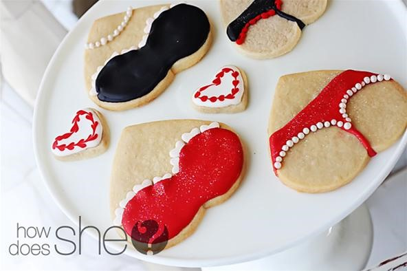 Whale Tail Cookies for Your Sweet Valentine