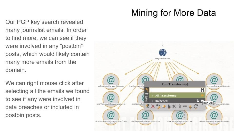 Video: How to Use Maltego to Research & Mine Data Like an Analyst
