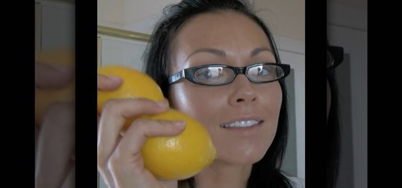 How to Use lemons to remove sun spots and acne scars ...
