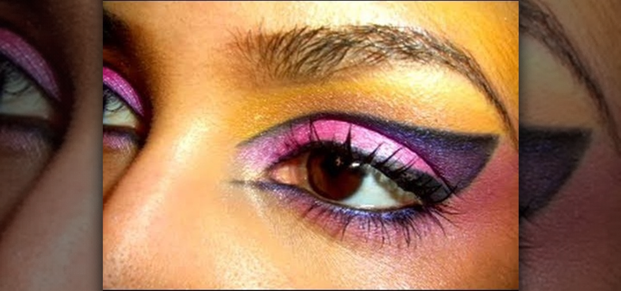 how to create a witchy cat eye makeup look for halloween makeup wonderhowto - Cat Eyes Makeup For Halloween